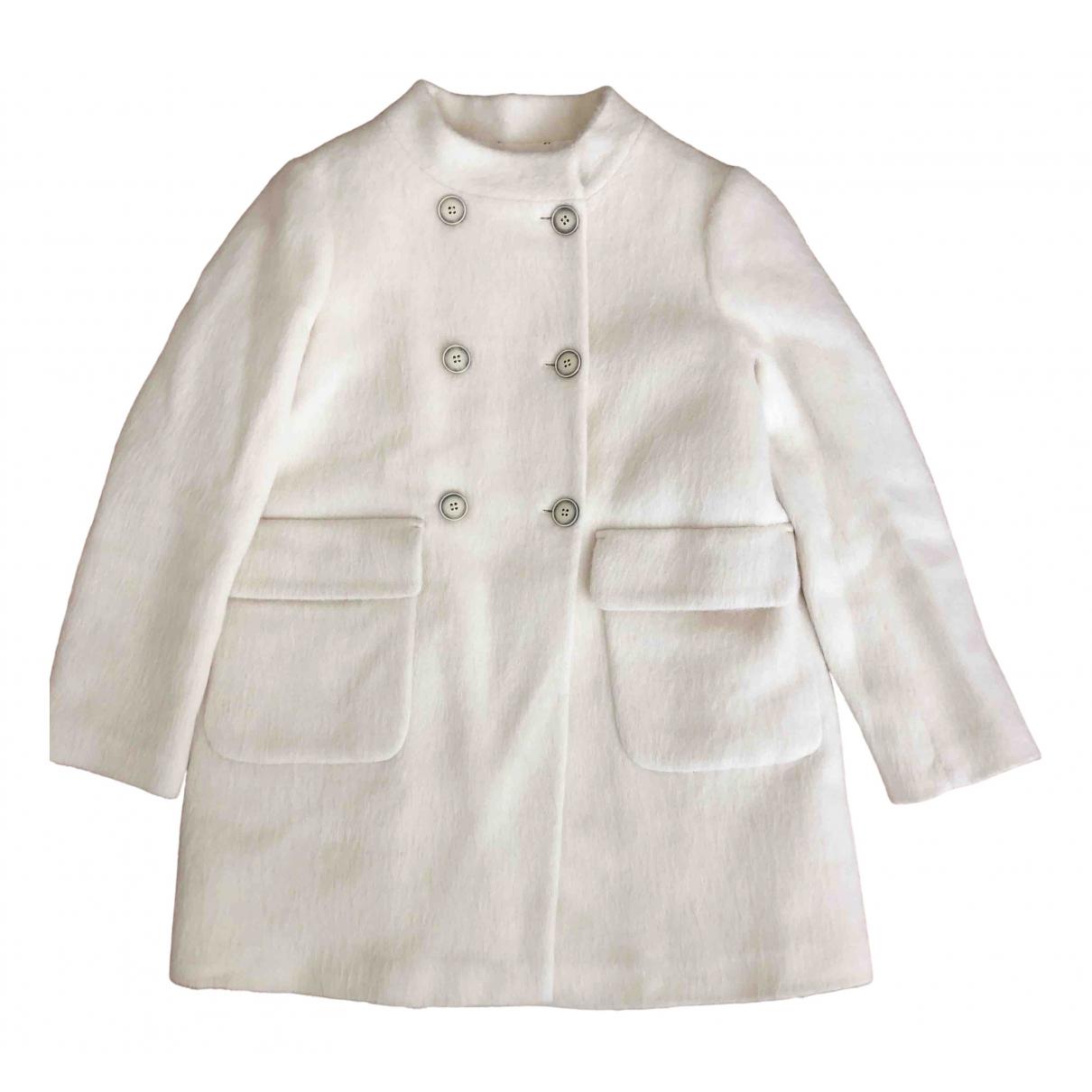 Bonpoint \N White Wool jacket & coat for Kids 12 years - XS FR