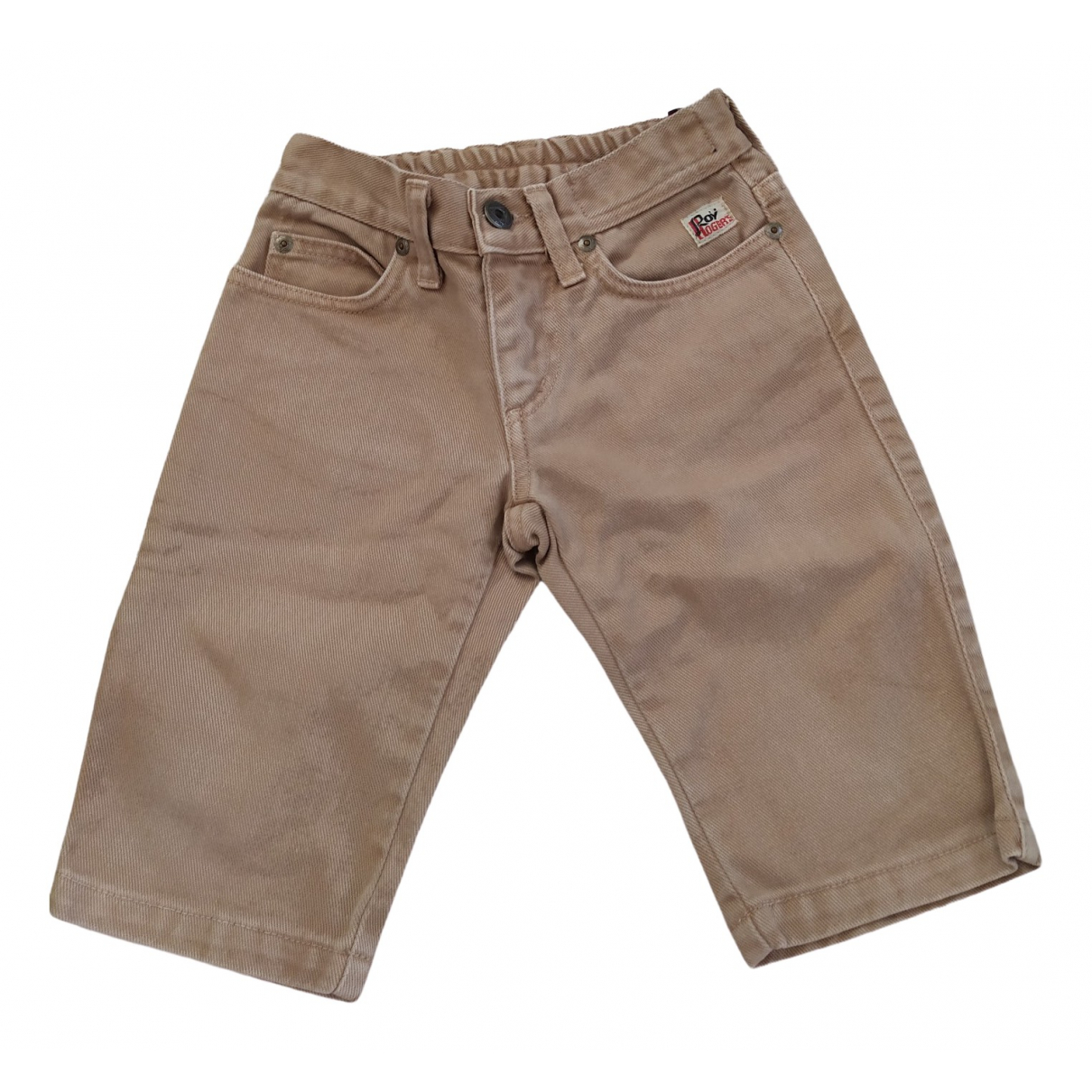 Roy Roger's \N Beige Cotton Trousers for Kids 12 months - up to 74cm FR