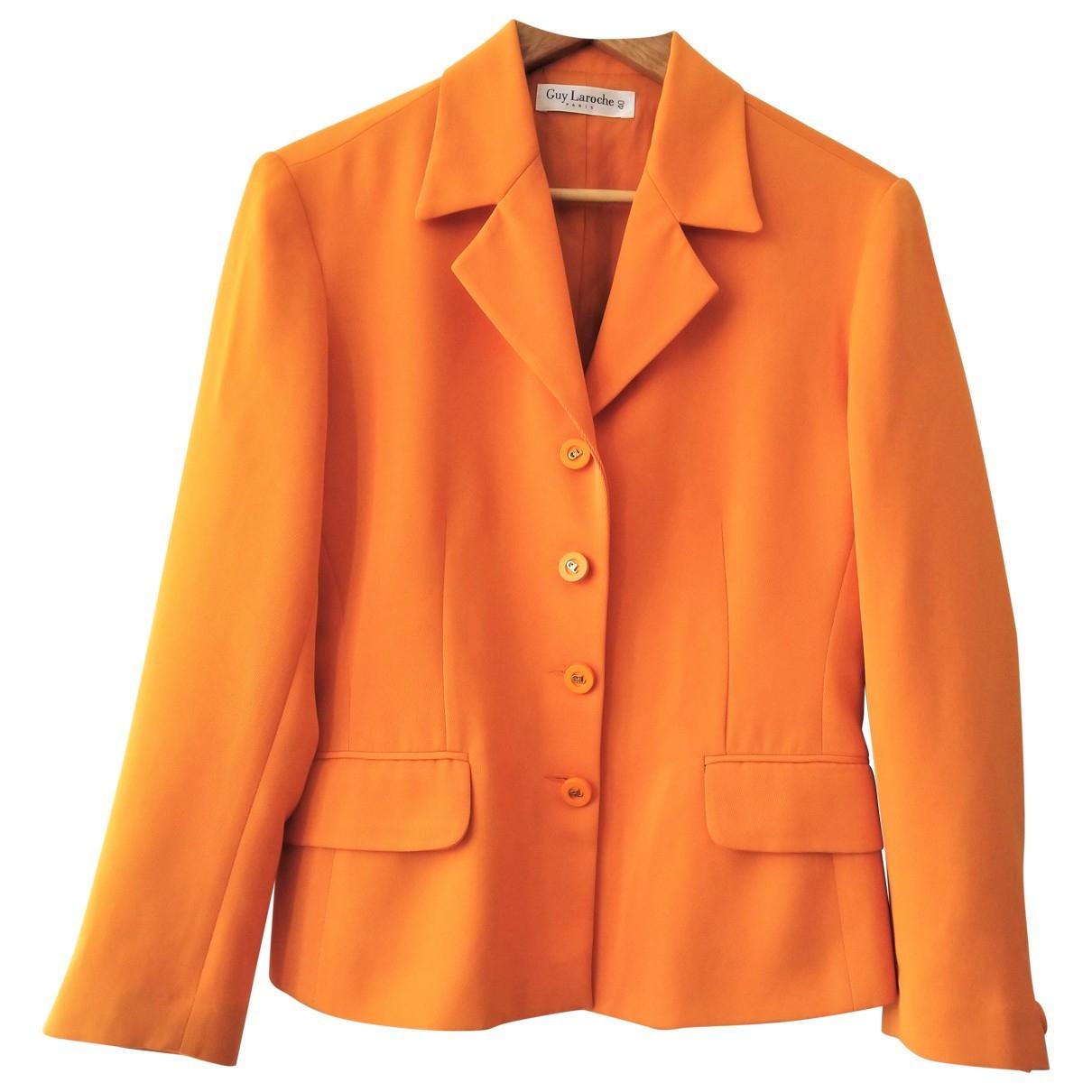 Guy Laroche - Veste   pour femme - orange