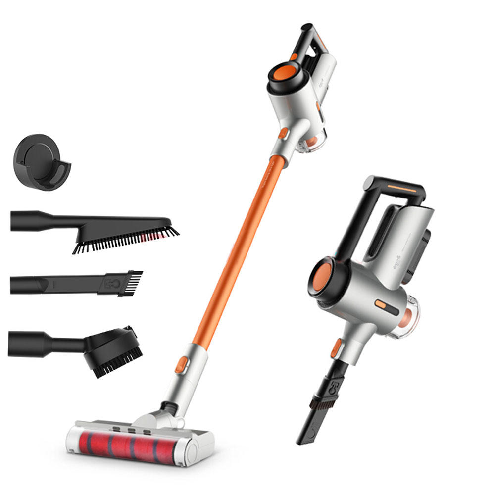 Deerma VC50 Household Upright Vacuum Cleaner Handheld Cordless Vacuum Cleaner for Home and Car, 15000Pa Powerful Suction