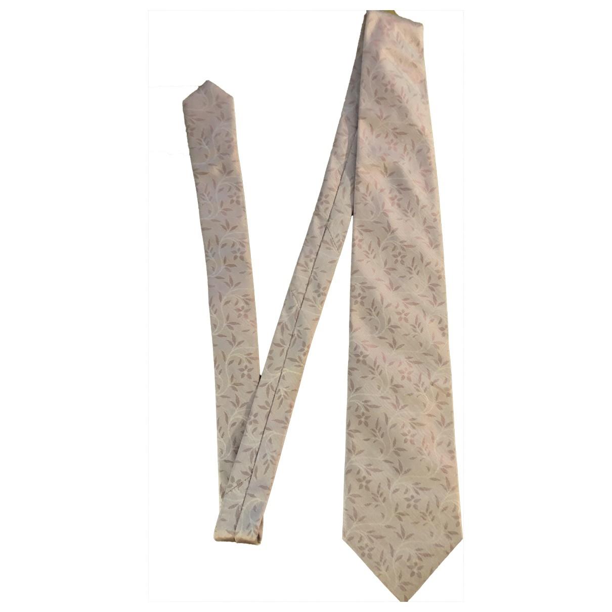 Kenzo - Cravates   pour homme en soie - rose