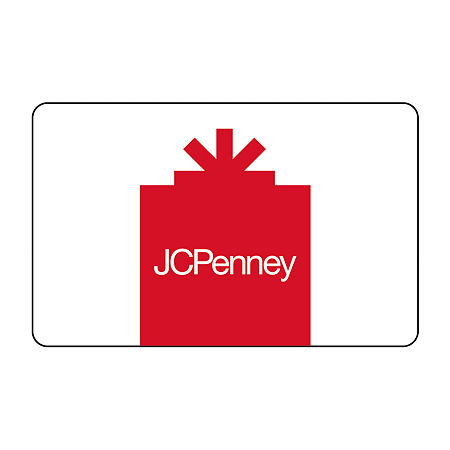 JCP Red Gift Card, One Size , No Color Family
