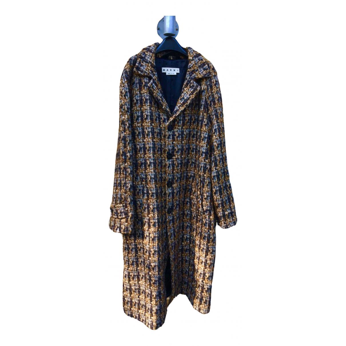 Marni \N Maentel in  Bunt Wolle