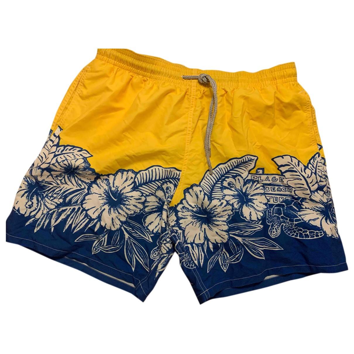 Vilebrequin \N Badeanzug in  Gelb Polyester