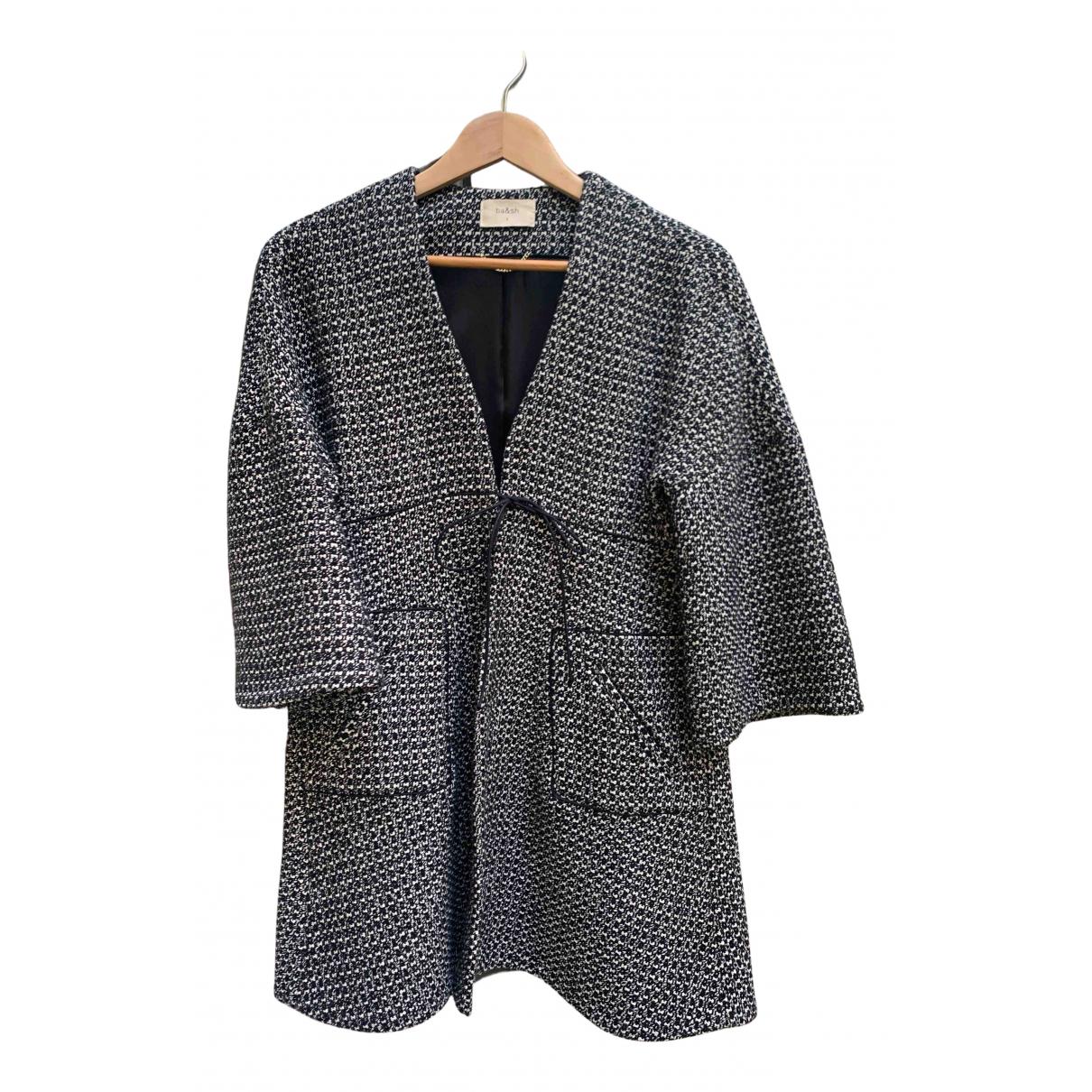 Ba&sh - Manteau   pour femme en coton - noir