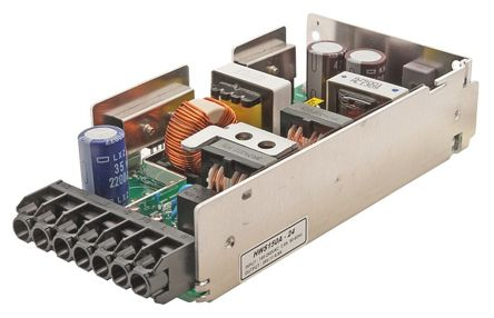 TDK-Lambda , 156W Embedded Switch Mode Power Supply SMPS, 24V dc, Open Frame