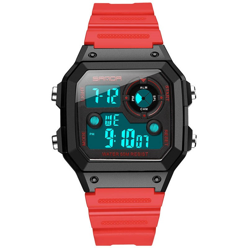Ericdress Square Plastic Mens Watches
