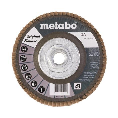 Metabo 4 1/2 In. Original Flapper 60 5/8 In.-11 T29 Fiberglass