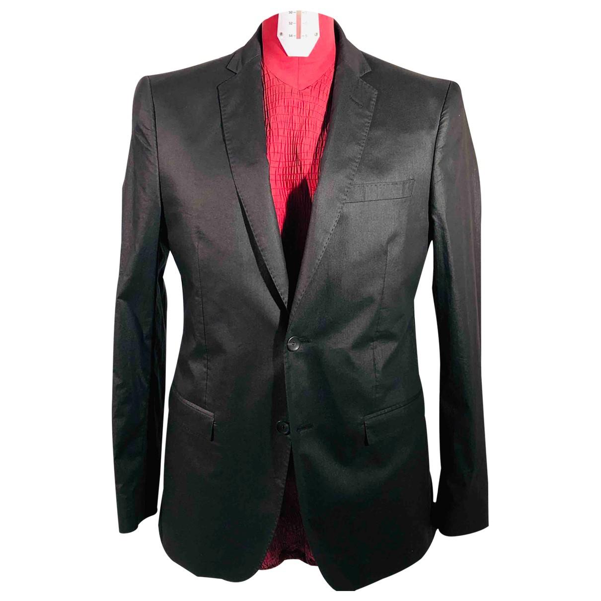 Guess N Black Cotton jacket  for Men 50 IT