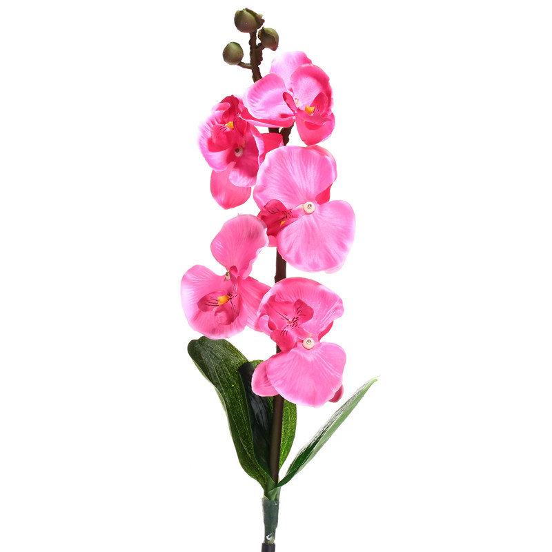 Solar Power Phalaenopsis Garden Stake Landscape Lamp Butterfly Orchid Outdoor Yard Light