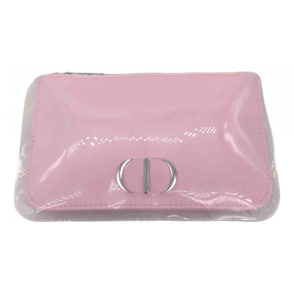 Christian Dior \N Kleinlederwaren in  Rosa Lackleder