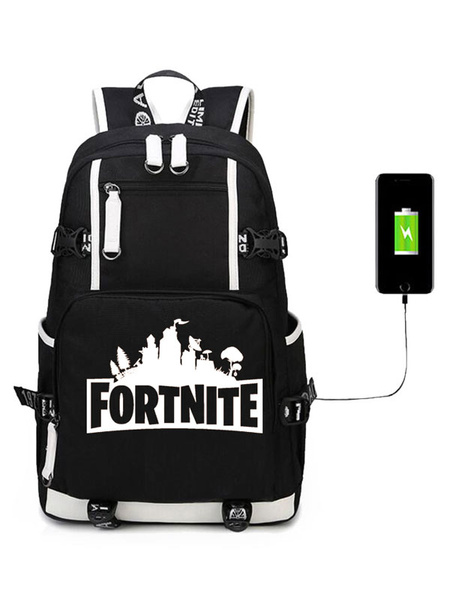 Milanoo Fortnite Costumes Game Battle Royale Backpack For Boys Cool School Bag Camping Hiking Halloween