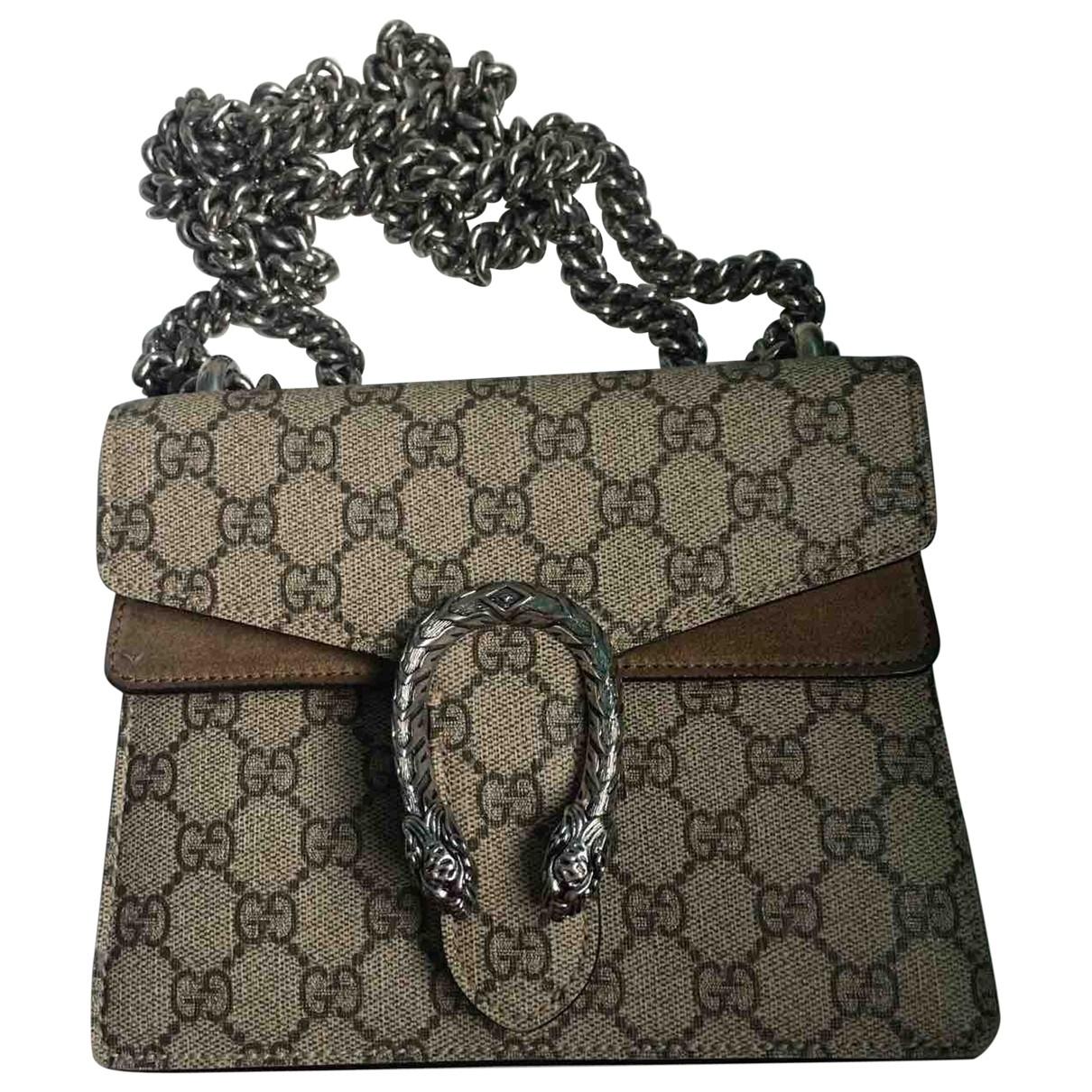 Gucci Dionysus Beige Leather handbag for Women \N