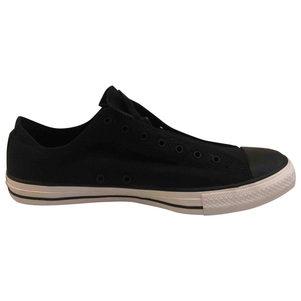 Converse \N Black Cloth Trainers for Men 45 EU