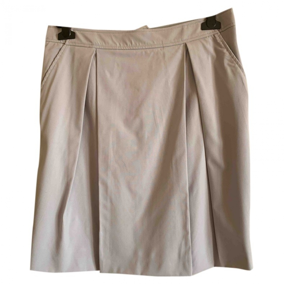 Armani Collezioni \N Grey Wool skirt for Women 44 IT