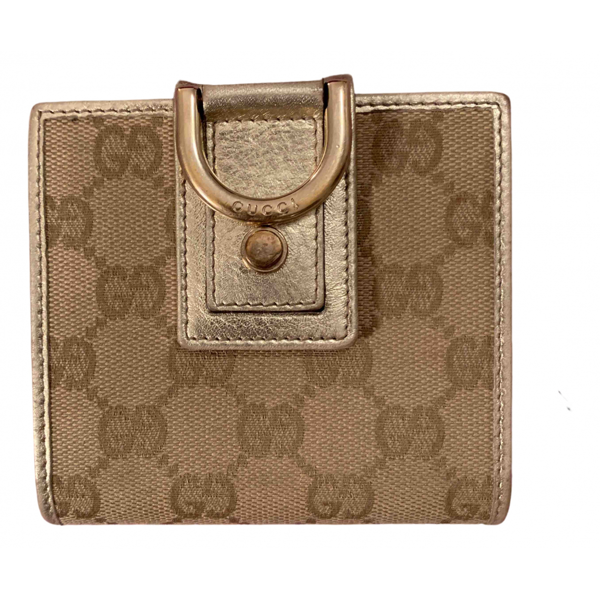Gucci N Beige Cloth wallet for Women N