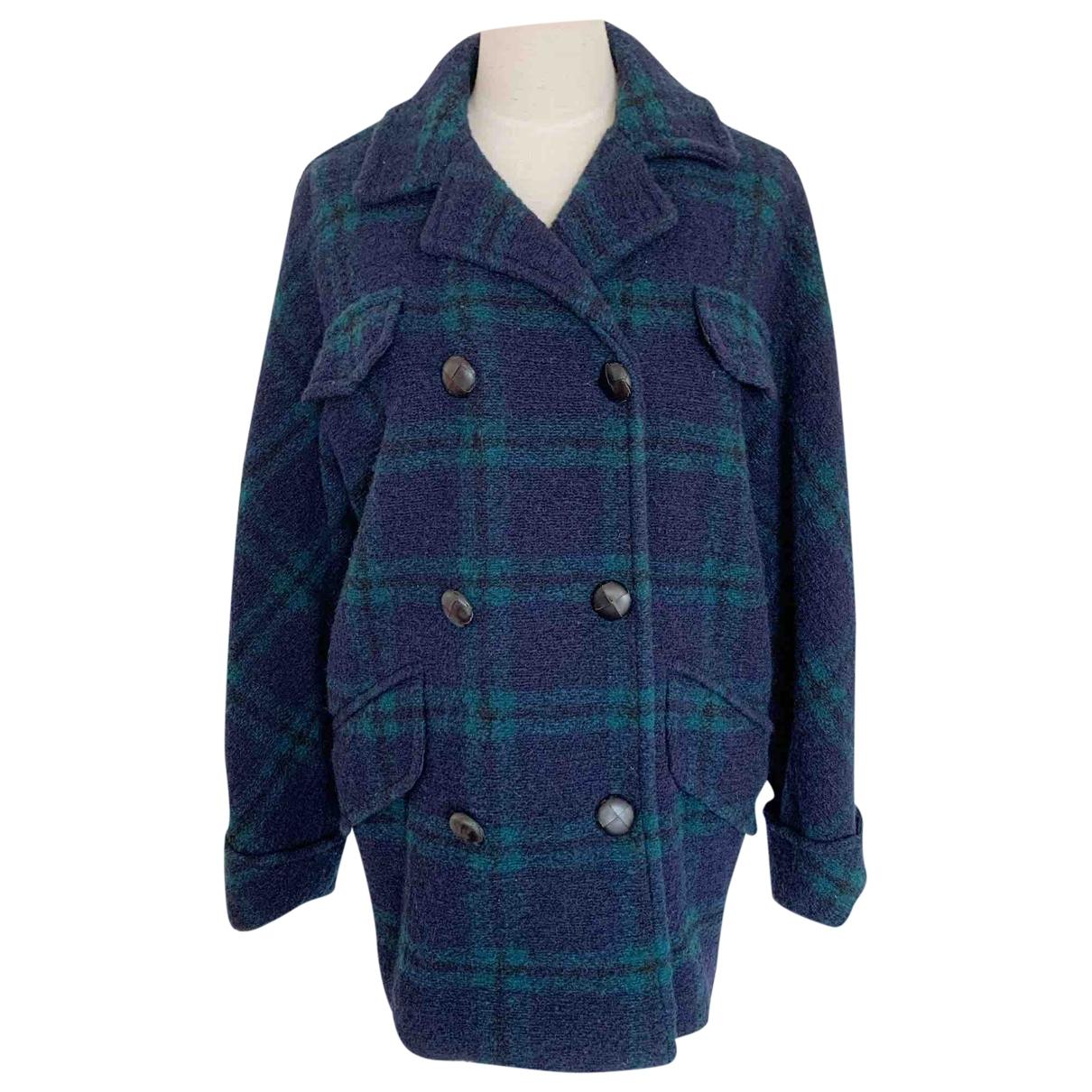 Isabel Marant Etoile - Manteau   pour femme en laine - bleu