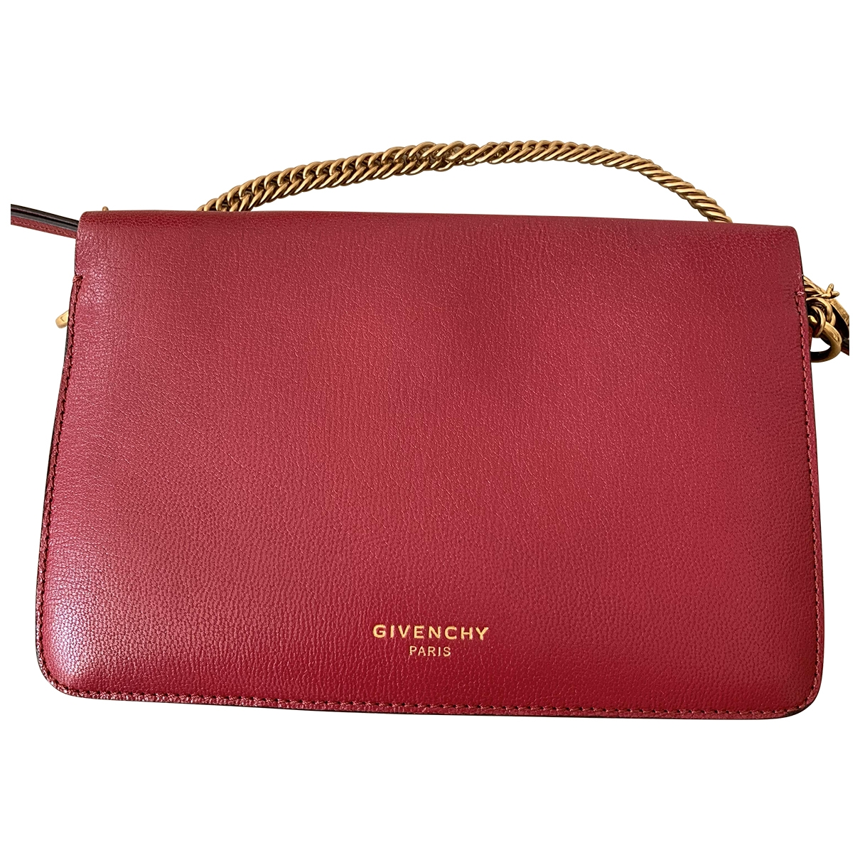 Givenchy CROSS3 Red Leather handbag for Women \N