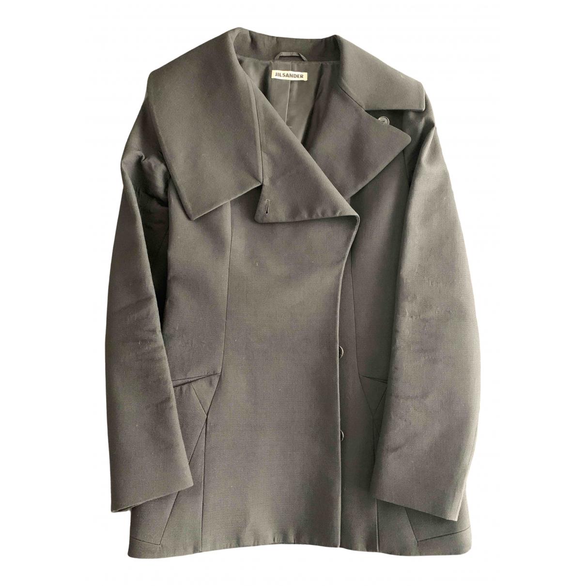 Jil Sander - Veste   pour femme en laine - noir