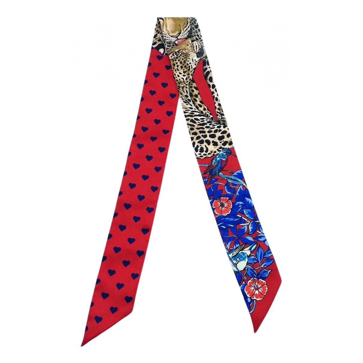 Hermes - Foulard Twilly 86 pour femme en soie - multicolore