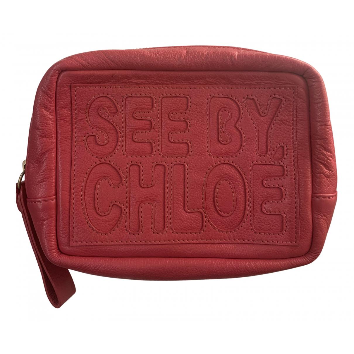 See By Chloe \N Clutch in Leder