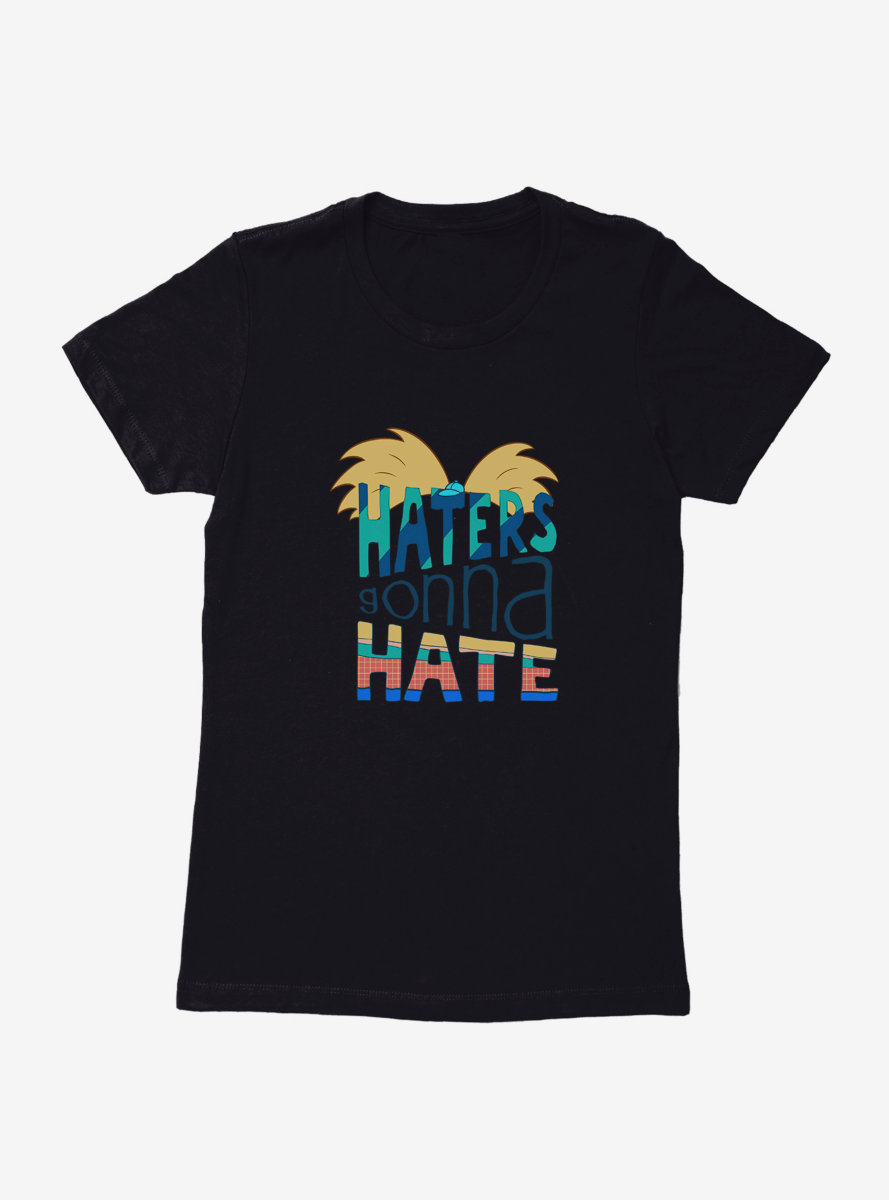 Hey Arnold! Haters Womens T-Shirt