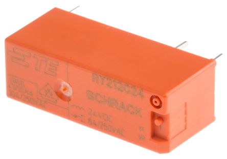 TE Connectivity , 24V dc Coil Non-Latching Relay SPDT, 8A Switching Current PCB Mount Single Pole