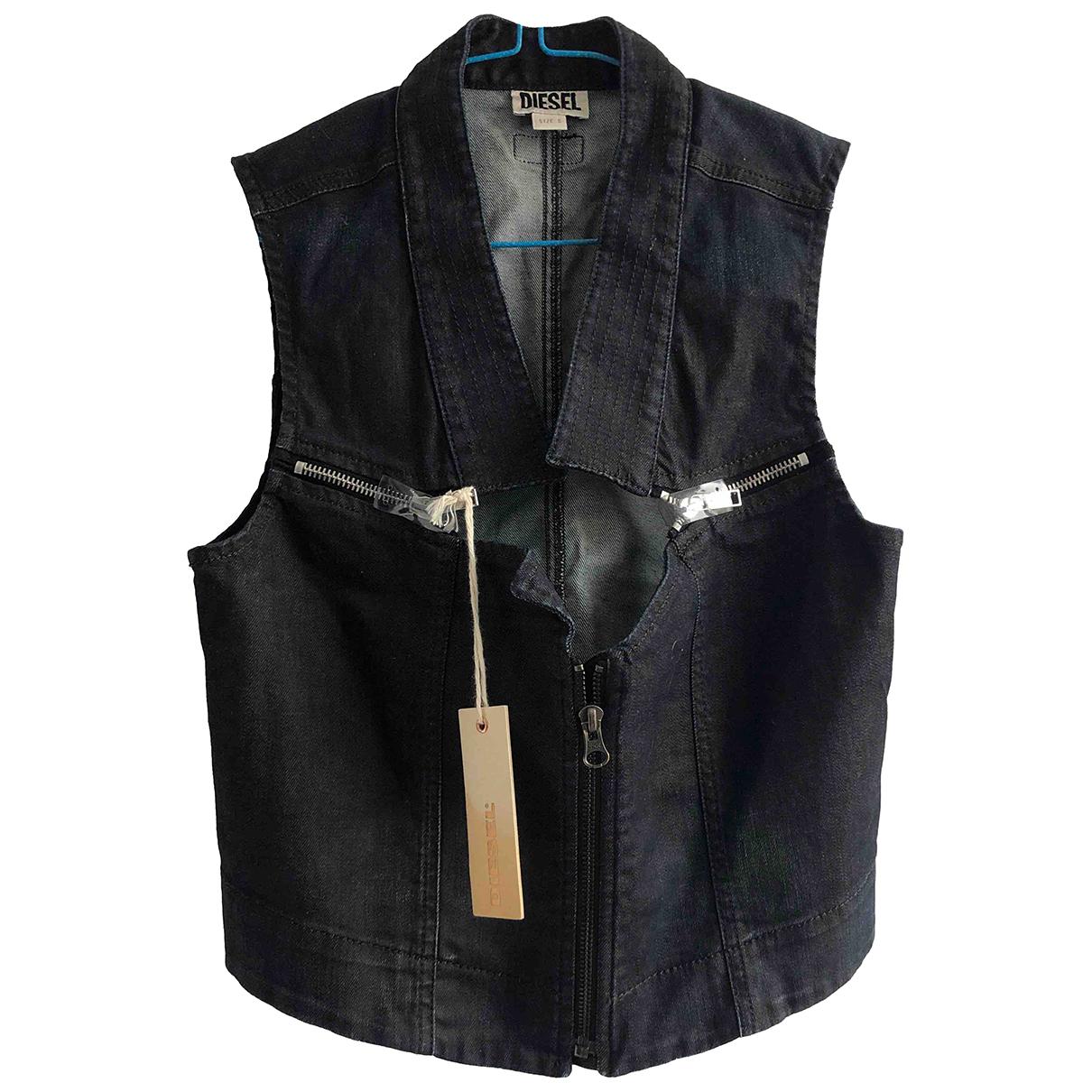 Diesel N Blue Cotton jacket for Women S International
