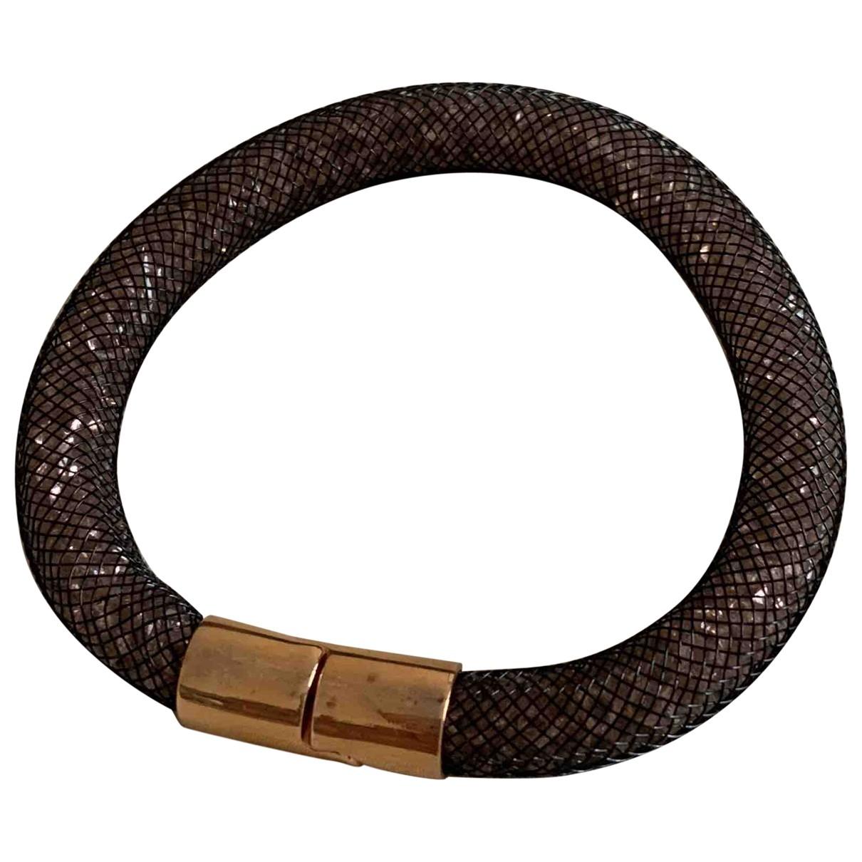 Swarovski Stardust Brown Crystal bracelet for Women \N