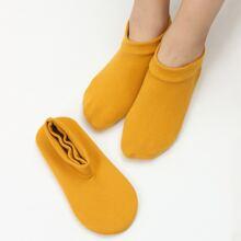 2 pares calcetines tobilleros unicolor
