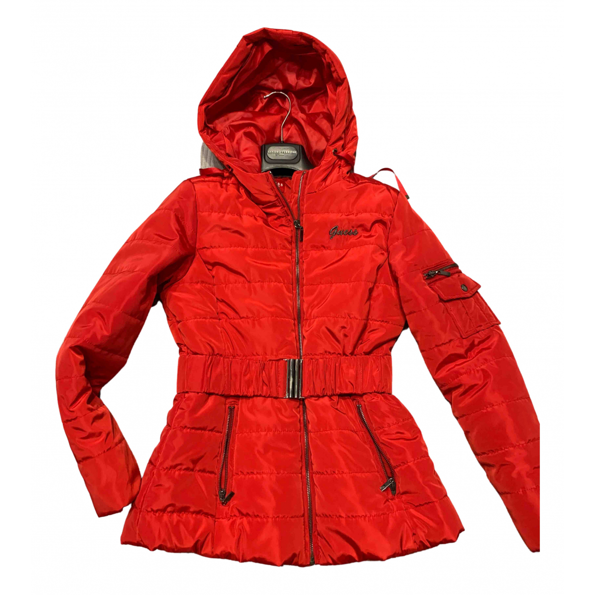 Guess \N Jacke in  Rot Polyester