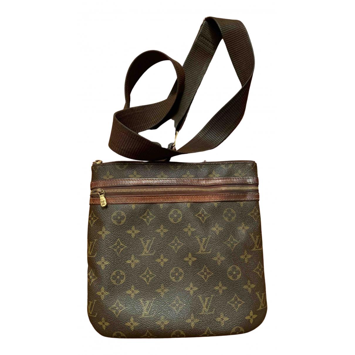 Bolso Bosphore de Lona Louis Vuitton
