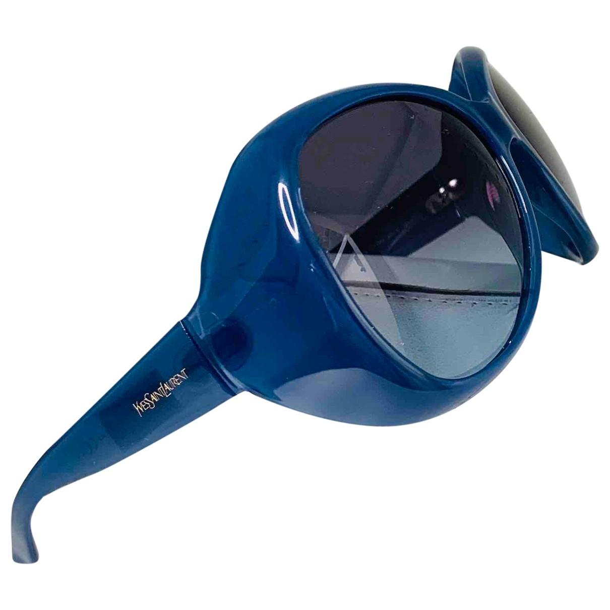 Yves Saint Laurent - Lunettes   pour femme - bleu