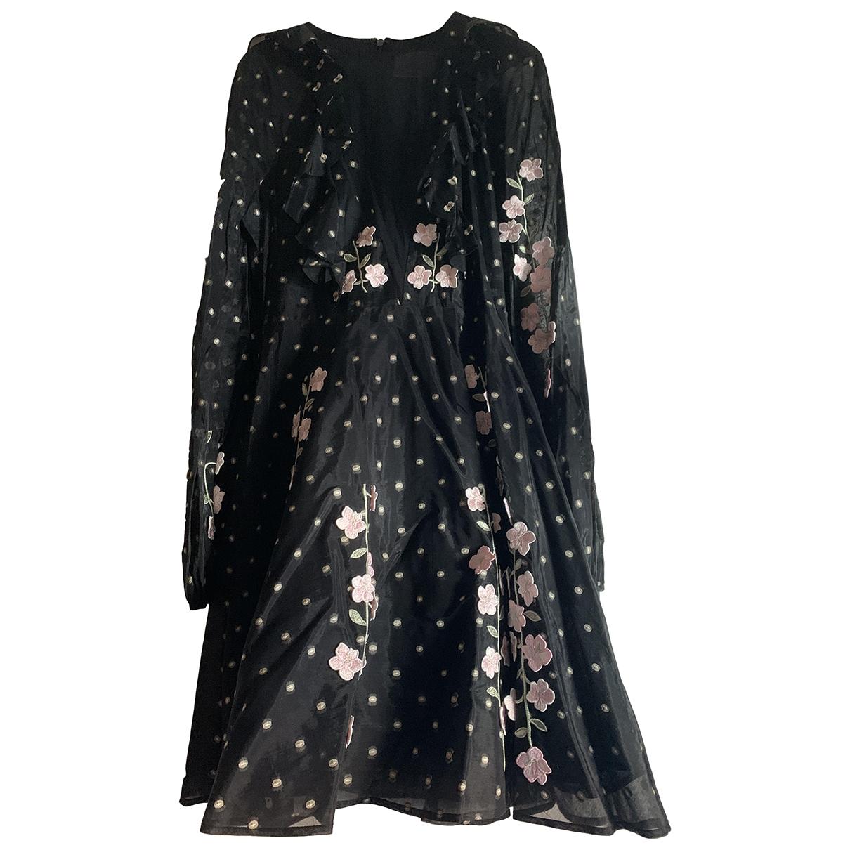 Giambattista Valli X H&m \N Black Cotton - elasthane dress for Women 34 FR