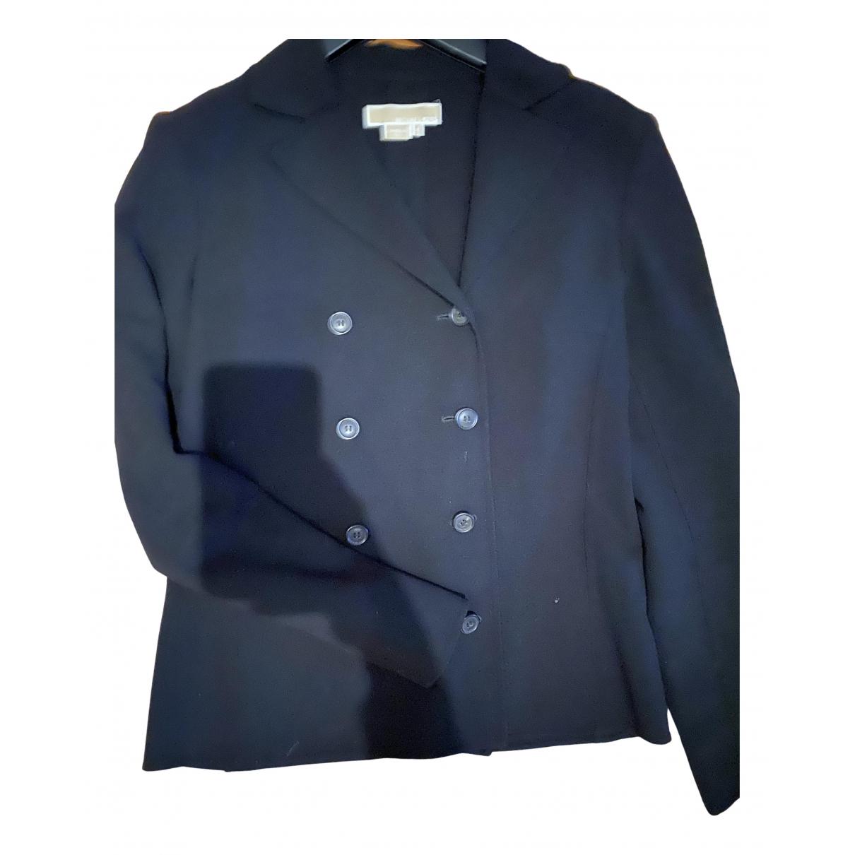 Michael Kors N Black Wool jacket for Women 4 US