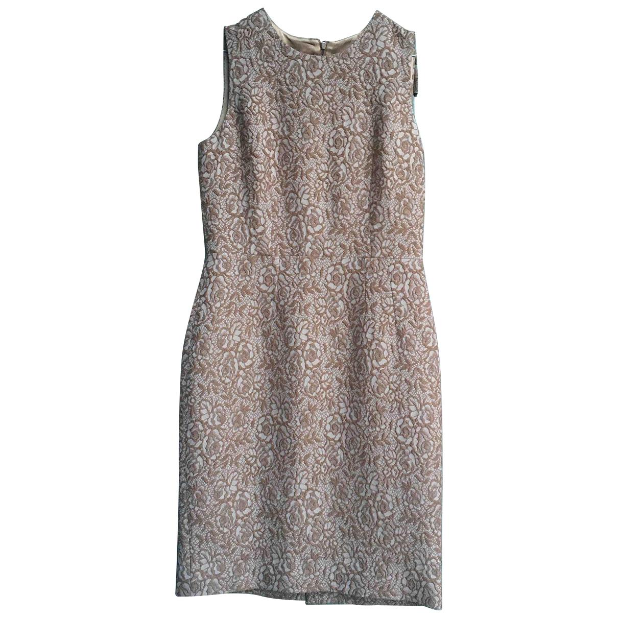 Dolce & Gabbana \N Kleid in  Kamel Wolle