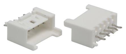 Molex , Mini-Lock, 53375, 5 Way, 1 Row, Straight PCB Header (10)