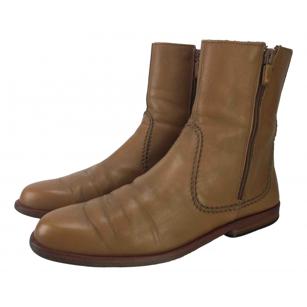 Botas altas de Cuero Hogan