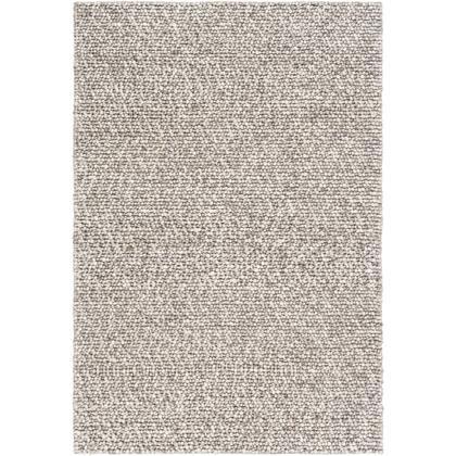 Como COO-2300 8' x 10' Rectangle Cottage Rug in Medium Gray