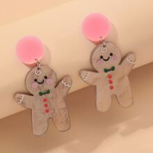 Christmas Cartoon Drop Earrings