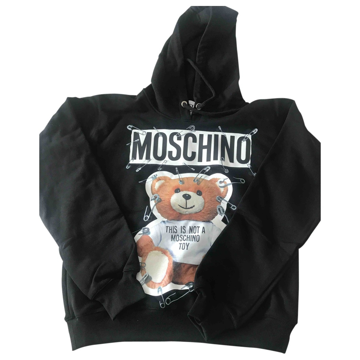Moschino \N Black Cotton Knitwear for Women 36 IT