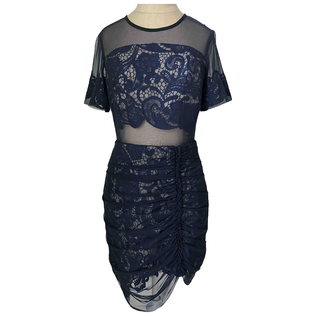 Three Floor Fashion \N Navy Lace dress for Women 10 UK