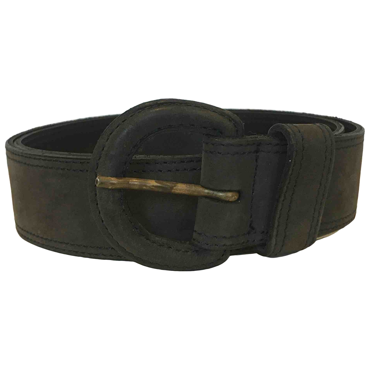 Non Signé / Unsigned \N Blue Suede belt for Women 29 Inches