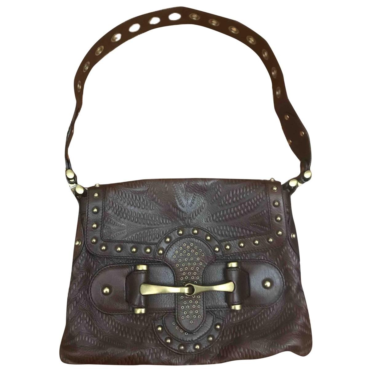 Gucci Hobo Brown Leather handbag for Women \N
