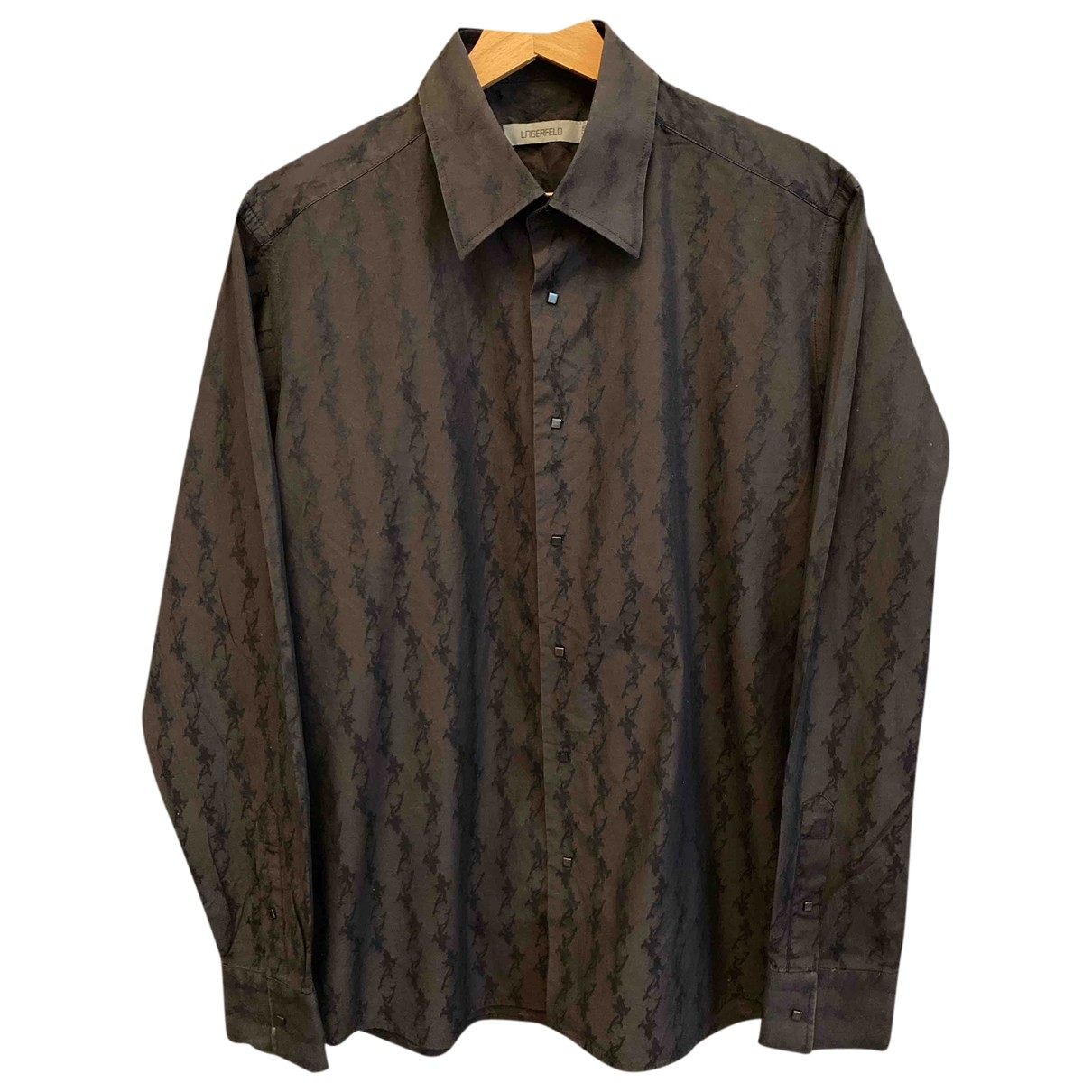 Karl Lagerfeld \N Cotton Shirts for Men 40 EU (tour de cou / collar)