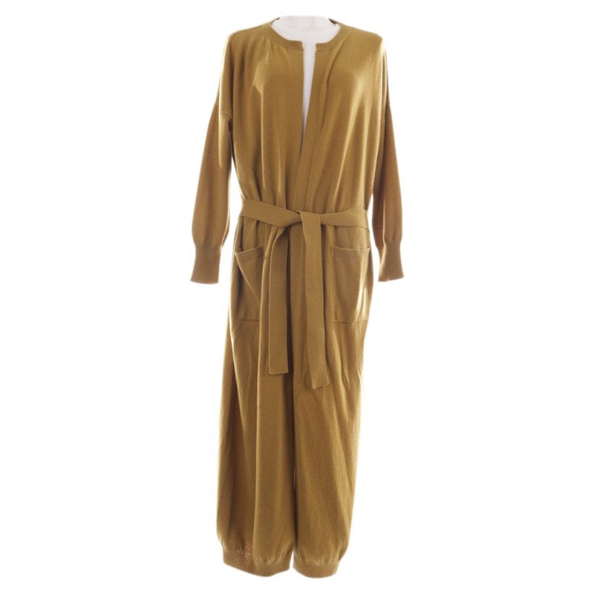 Autre Marque \N Pullover in  Gelb Kaschmir