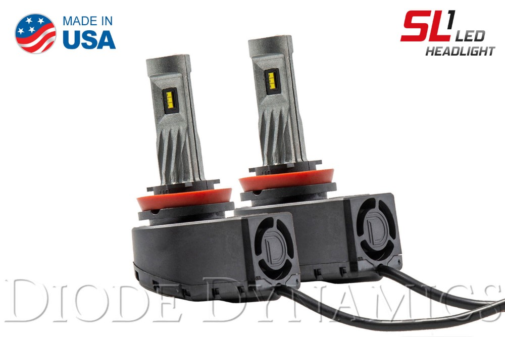 Diode Dynamics DD0408P H9 SL1 LED Pair with AntiFlicker Modules