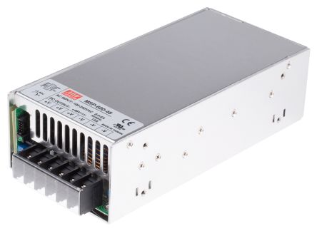 Mean Well , 624W Embedded Switch Mode Power Supply SMPS, 48V dc, Enclosed, Medical Approved