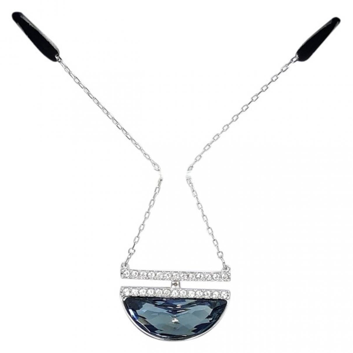 Swarovski \N Silver Steel Long necklace for Women \N