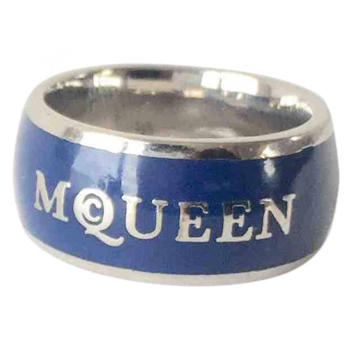 Alexander Mcqueen \N Blue Metal Jewellery for Men \N